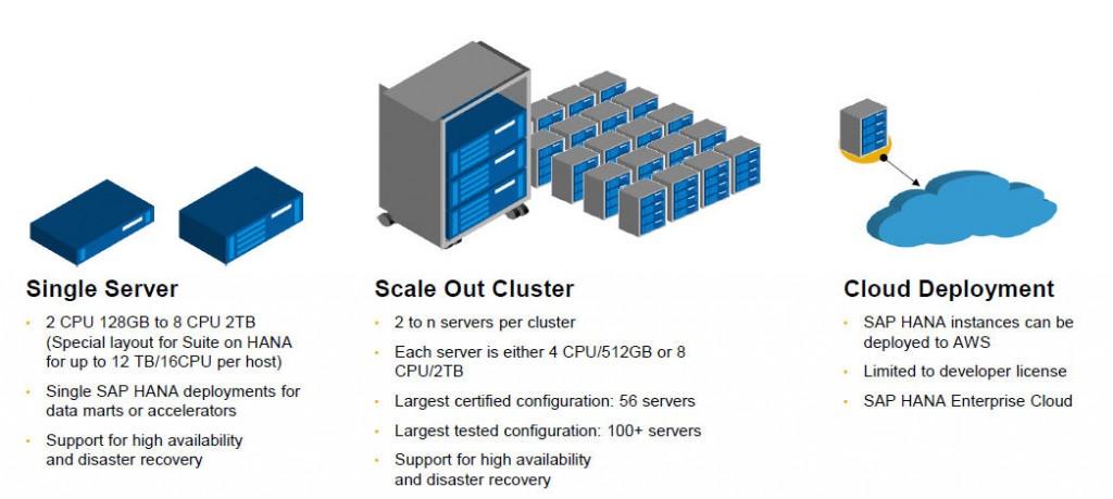 SAP HANA 디스크 구성