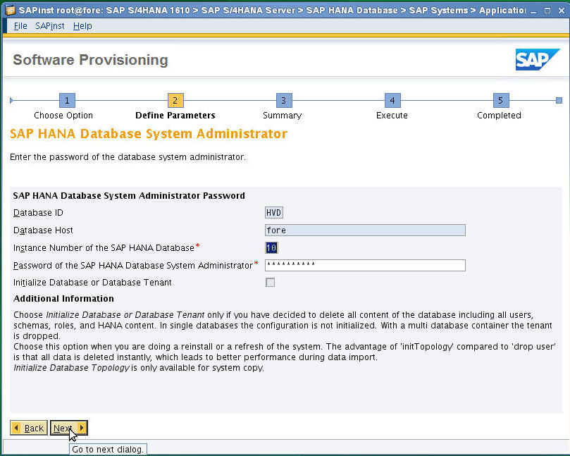 SAP S/4 HANA 1610 Installation Process Document Step by Step