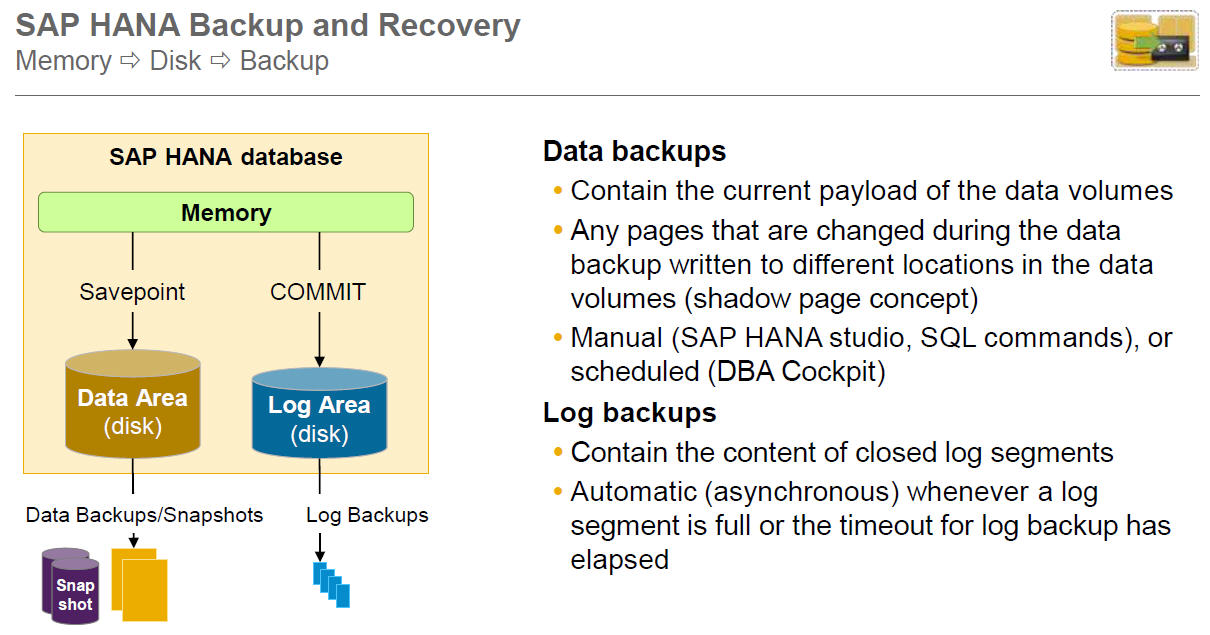 hana backup and recovery