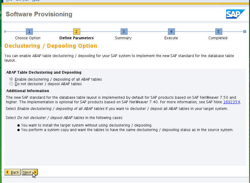 Installation for SAP S/4 HANA 1709 – SAP S/4 HANA
