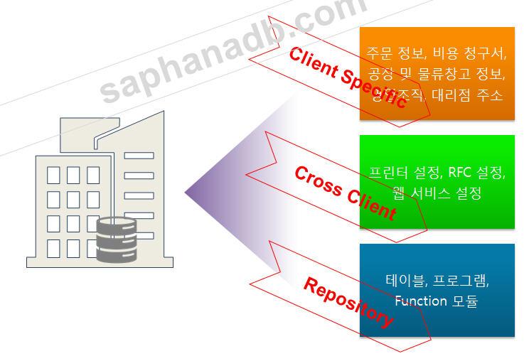 SAP Client 개념
