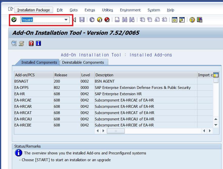 Installiation Screen Persoans 3 0 on SAP S/4 HANA 1709 – SAP
